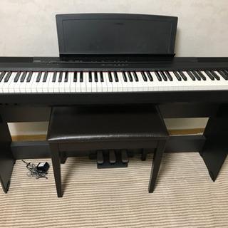 美品 電子ピアノ YAMAHA  P-105 椅子付き