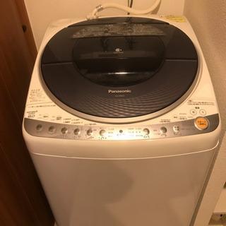 交渉中 Panasonic 洗濯乾燥機 8k 自動投入 ナノイー