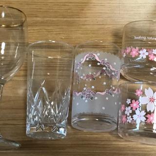 未使用のグラス