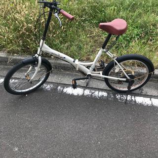 <お話中>折りたたみ自転車(中古品)