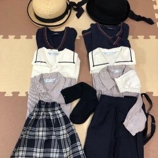 福島市 白百合幼稚園制服セット