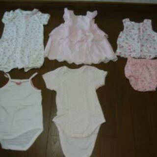 女の子 60-70 服 1