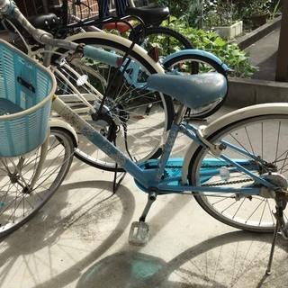 自転車 3台あります。 24インチ 22インチ 16インチ