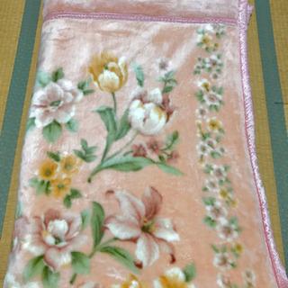 【10/7処分】二重毛布 シングルサイズ