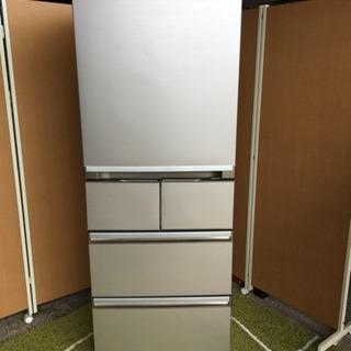 ☆AQUA☆大型冷蔵庫☆大容量400L☆自動製氷機能、完全動作品
