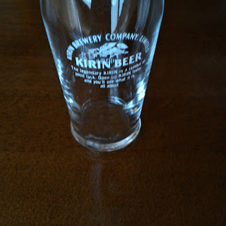 値下げします ガラスコップ(キリンロゴ入り、レトロ) 16個