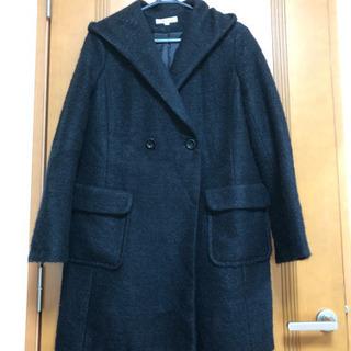 新品同様 マニックスmanics 軽量暖かな上質ガウンコート