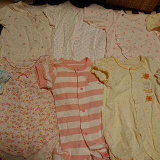 新生児ベビー服&ベビードレス、靴下、帽子セット