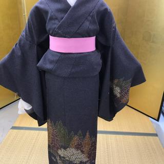 松井青々工房の訪問着 着物 未仕立て 新品