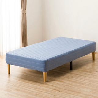 【セミダブルベッド】マットレス一体型ベッド