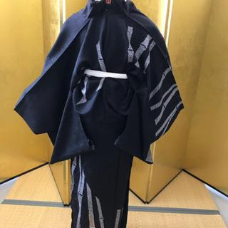 絞り 金駒刺繍 竹柄 訪問着 未仕立て 新品