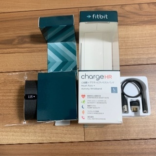 fit bit charge HR Lサイズ