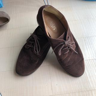 スウェード 靴