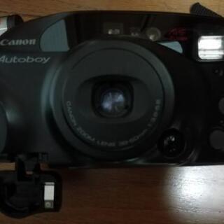 CANONキヤノンフイルムカメラオートボーイ電池無