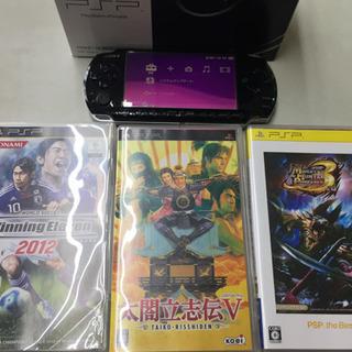 PSP  ソフト3本付き