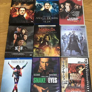洋画DVD Blu-ray 10本まとめ処分❗️