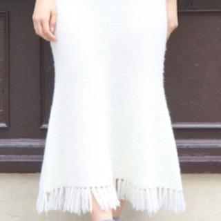 dazzlin 新品未使用 ニット ロングスカート