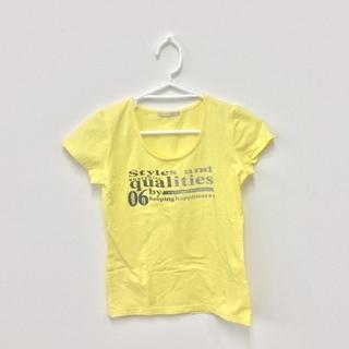 ELLEPLANETE Tシャツ イエロー