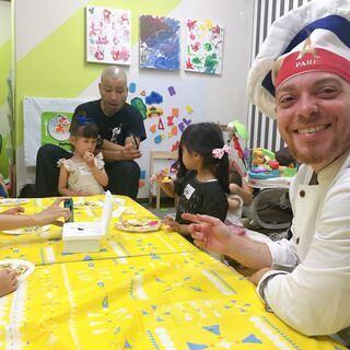 [子供英語] 外国人シェフと英語で親子クッキング