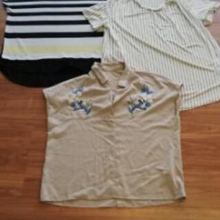 Lサイズ 3枚セット シャツ ブラウス