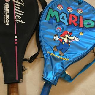 右、美品❣️値下げ‼️任天堂マリオのテニスラケット
