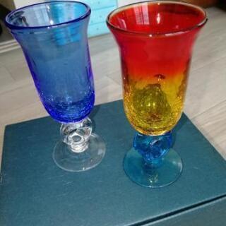 琉球ガラス ビードロ グラス3セット