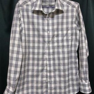 チェックのシャツ(S)紳士用