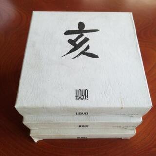 【HOYA 干支皿(亥) 3枚セット 未使用】いのしし 猪 保谷...
