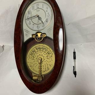 オルゴール壁掛け時計