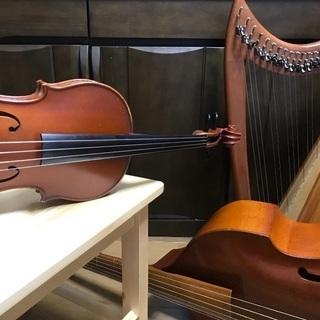 ヴァイオリン・ヴィオラ・ソルフェージュ スタートしました