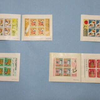 昭和のお年玉切手(未使用)セットでいかがでしょうか? S33~S40年