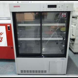 SANYO 158L カギ付き 冷蔵ショーケース MPR-162DCN