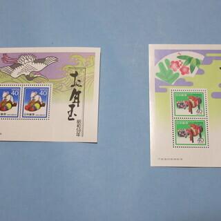 昭和のお年玉切手(未使用)セットでいかがでしょうか? S33年~...