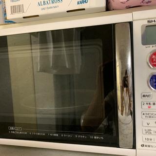 SHARP オーブンレンジ 3,000円