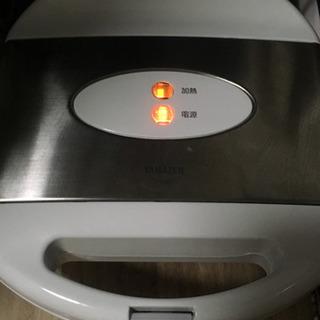 ホットサンドメーカー Yamazen YSA680(S)