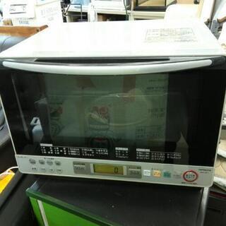 ¥500  日立オーブンレンジ 2006年 左上部割れ有ります❗