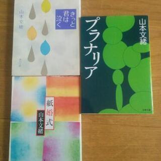 山本文緒 3冊セット100円(1冊50円でも可)