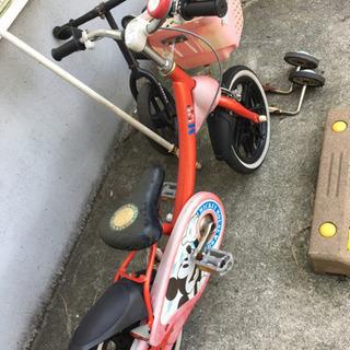 14インチ自転車&ストライダー - 我孫子市