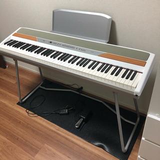 美品 KORG コルグ デジタルピアノ SP-250WS ホワイ...