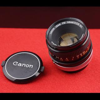 Canon FD 50mm F1.8 S.C