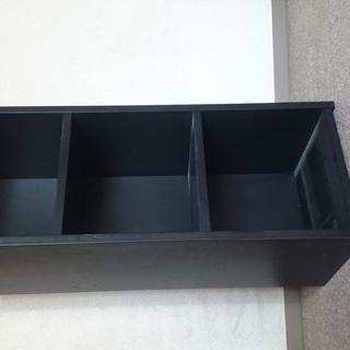 木製ラック(黒色)