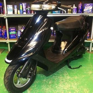 バイク屋の安心の整備済み!アドレスV100!人気の黒