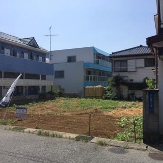新検見川駅徒歩5分 整形地 建築条件なし