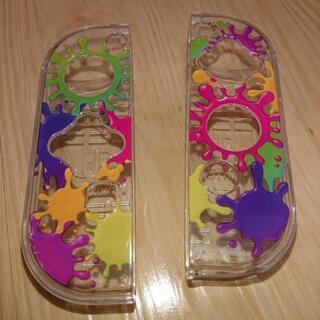 任天堂Switch:ジョイコン用プラスチックカバー
