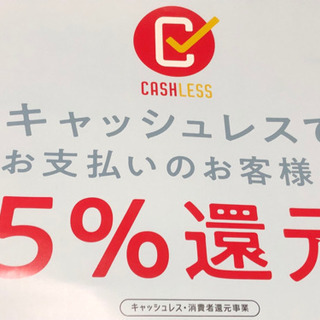 キャッシュレス決済【対象店舗】ポスター【通常版/条例対応版】