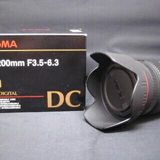 中古品 SIGMA シグマ 一眼レンズ 18-200mm …
