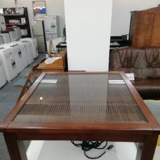 660 KOIZUMI 和モダン.木とガラスのコタツ