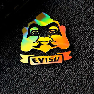 EVISU ホログラムステッカー