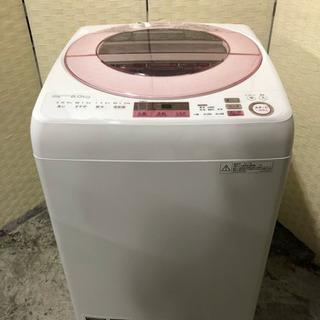 🌈🌈🌈2017年製❣️SHARP 8kg 洗濯機☝️😍