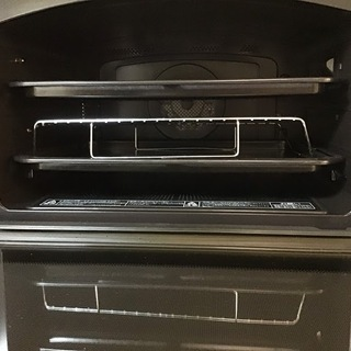 【送料無料・設置無料サービス有り】過熱水蒸気オーブンレンジ 2018年製 TOSHIBA ER-SD3000(R) 中古 - 杉並区